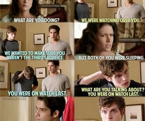 funny, teen wolf, and tyler posey image