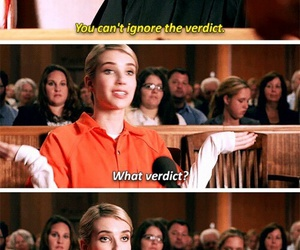 scream queens, emma roberts, and funny image