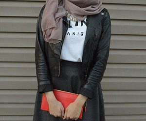 fashion, outfit, and حجاب image