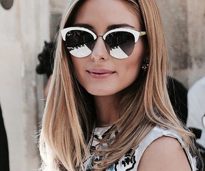 olivia palermo and middle part image