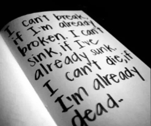 dead, quote, and broken image