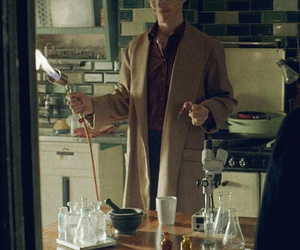 experiment, fire, and sherlock bbc image