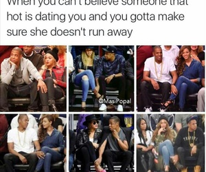 beyoncé, jay, and funny image
