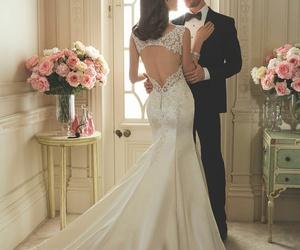 wedding, wedding dresses, and wedding gowns image