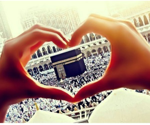 islam, muslim, and heart image