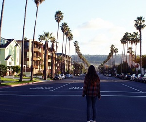 girl, summer, and california image