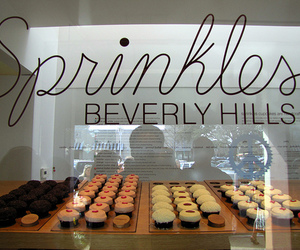 cupcake, Beverly Hills, and food image
