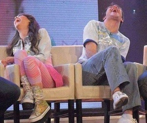 casi angeles, lali esposito, and peter lanzani image
