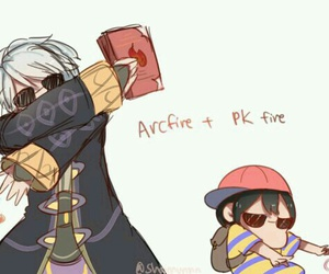 ness, robin, and fire emblem image
