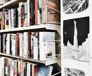 book shop, books, and tumblr image