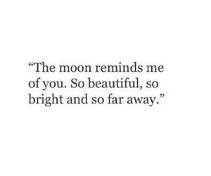 moon, quotes, and bright image