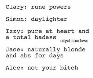 funny, the mortal instruments, and jace wayland image