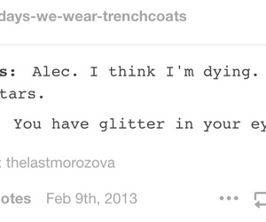 glitter, tmi, and alec lightwood image