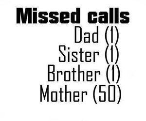 mother, dad, and call image