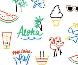 wallpaper, summer, and Aloha image