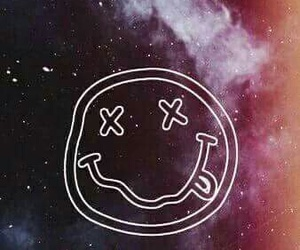 nirvana, wallpaper, and galaxy image