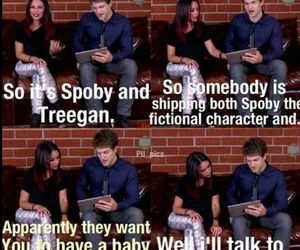 funny, keegan allen, and spoby image
