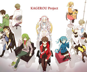 kagerou project, anime, and kido image