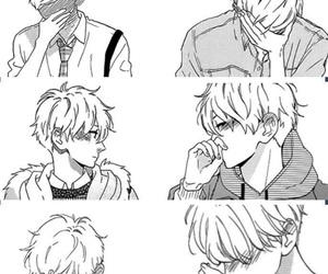 hirunaka no ryuusei, manga, and blush image