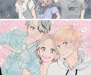 manga, hirunaka no ryuusei, and mamura image