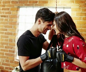 couple, love, and boxing image