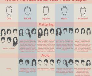 hair, haircut, and face shape image