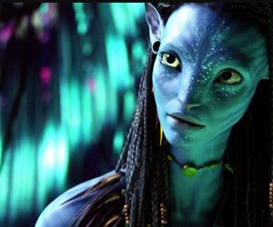 avatar, neytiri, and blue image