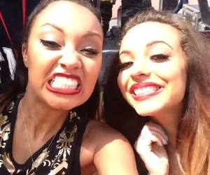 jade thirlwall, leigh anne pinnock, and little mix icons image