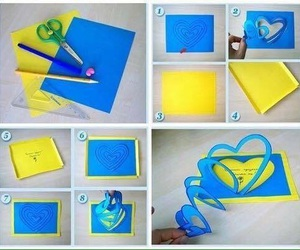 diy, blue, and card image