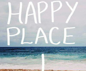 beach, happiness, and sea image