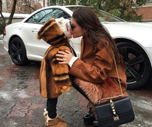 fashion, baby, and kiss image