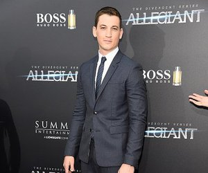 peter, divergent, and miles teller image
