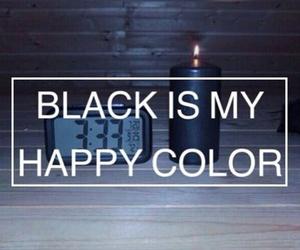black, grunge, and happy image