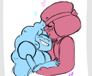 ruby, sapphire, and love image