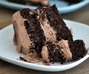 cake, dessert, and chocolate image