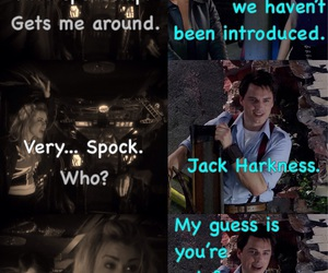 billie piper, doctor who, and john barrowman image