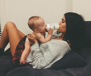girl and baby image