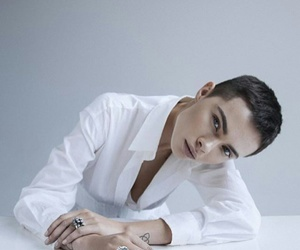 androgynous, model, and androgyny image