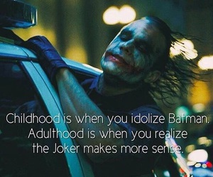 batman, joker, and quotes image