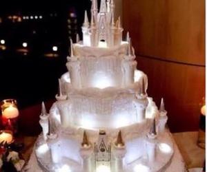 cake, disney, and castle image