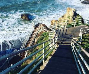 cali, california, and coast image