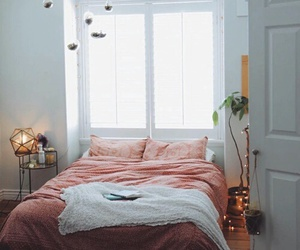 bedroom, room, and bed image