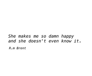 love quotes, relationship quotes, and she makes me happy image