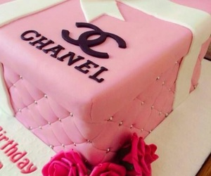 chanel, cake, and delicious image