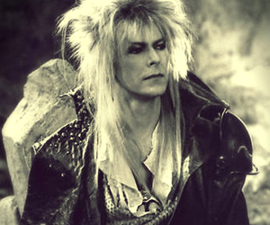 david bowie, jareth, and labyrinth image