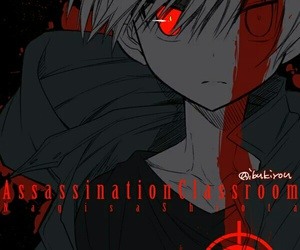 anime, killer, and assassination classroom image