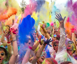 fun, festival, and colour image