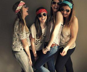 girls, smile, and laugh image