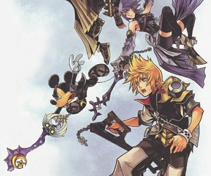 kingdom hearts, aqua, and terra image