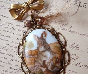 bunny, vintage, and decor image
